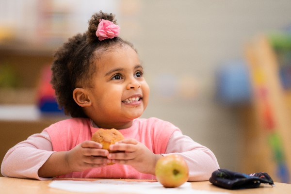 We provide nutritious meals for all the children in our programs.